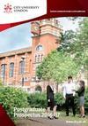 City, University of London Postgraduate Prospectuses